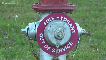 Portsmouth neighbors worry about broken fire hydrants