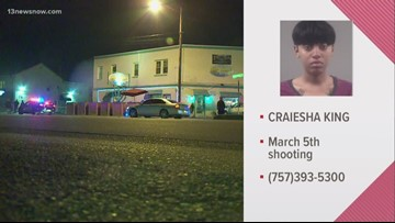 Portsmouth police look for woman in connection with bar shooting