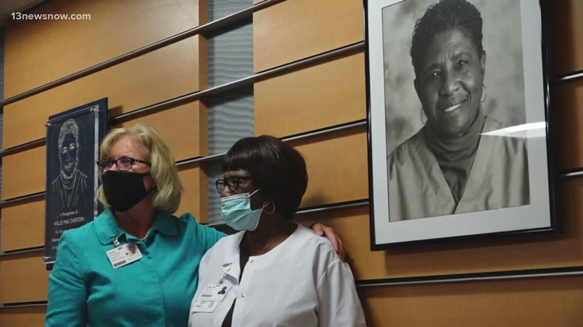 Sentara Healthcare Celebrates Longest-serving Employee