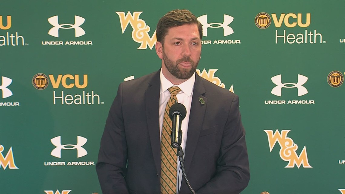 Say hello to William and Mary's new Director of Athletics, Brian Mann