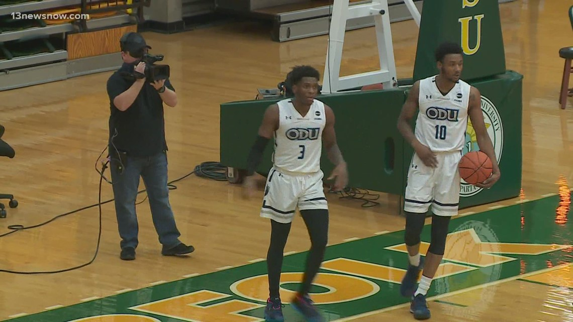ODU's Malik Curry is moving on