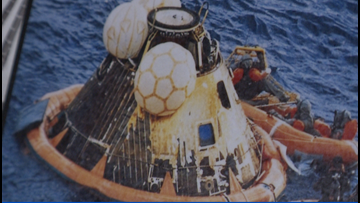 Former Navy frogman helped recover Apollo 11 astronauts after moon trip