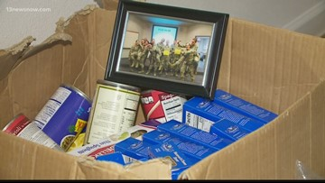 Air Force veteran hosts celebratory meal for Coast Guard families