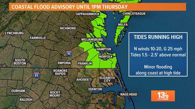 Coastal Flood Advisory