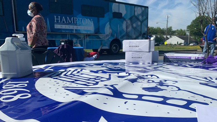 Church, Hampton University partner for COVID-19 vaccine and testing clinic in Portsmouth