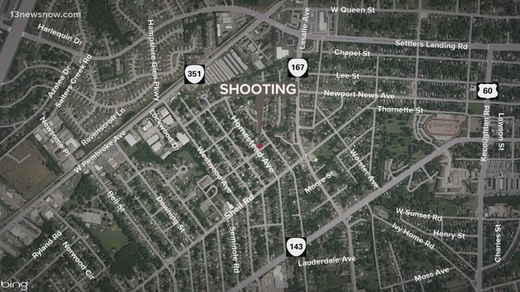 Two Men Shot on Homestead Avenue in Hampton Saturday Night