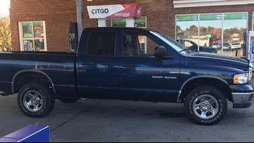 After his work truck to caught fire, someone stole a man's new truck the same day he bought it