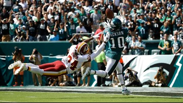 Jackson shines in Philly return, Eagles beat Redskins