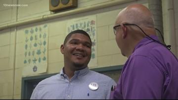 IN SESSION: Retiring Suffolk teacher finds successor in former student