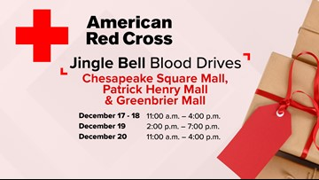 American Red Cross, 13News Now team up for holiday blood drives
