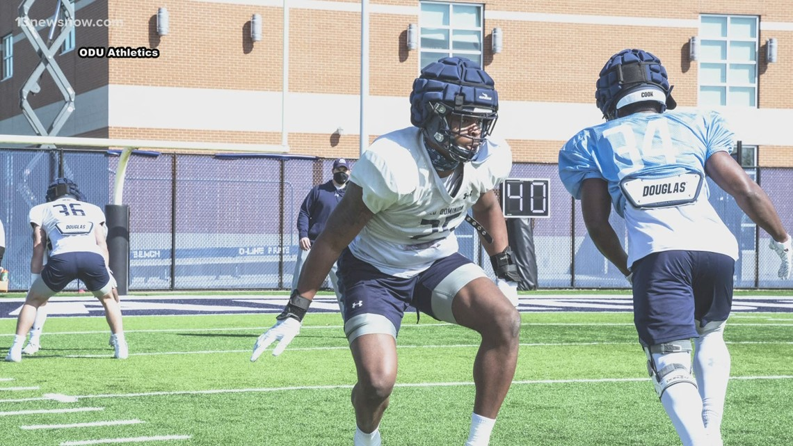 ODU football coming down the home stretch of spring ball