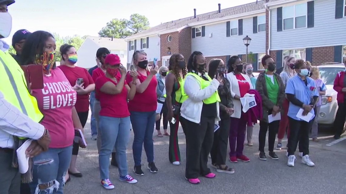 'Care' Walk after attack on children in Newport News