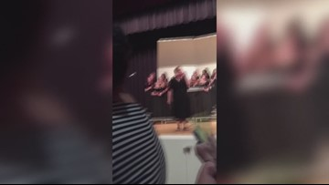 Chesapeake high school alumni surprise retiring chorus director