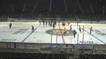Admirals have familiar faces back as training camp opens