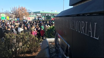 Hundreds sing, march in Norfolk MLK celebration