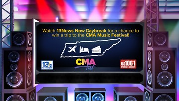 CMA Music Festival Sweepstakes rules