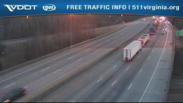 Possible shooting incident causes traffic standstill on I-264 west in Portsmouth