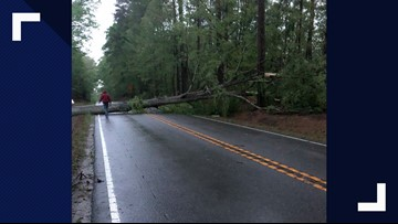 Severe storms cause damage to Hampton Roads