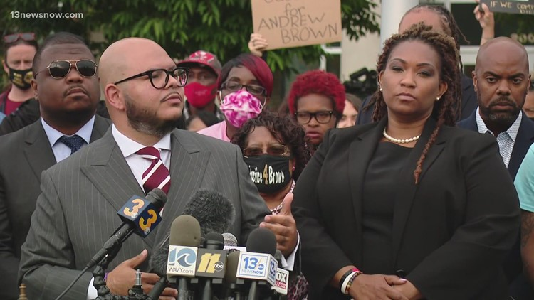 Attorneys say body camera video shows Andrew Brown Jr. 'ambushed', was not a threat to law enforcement