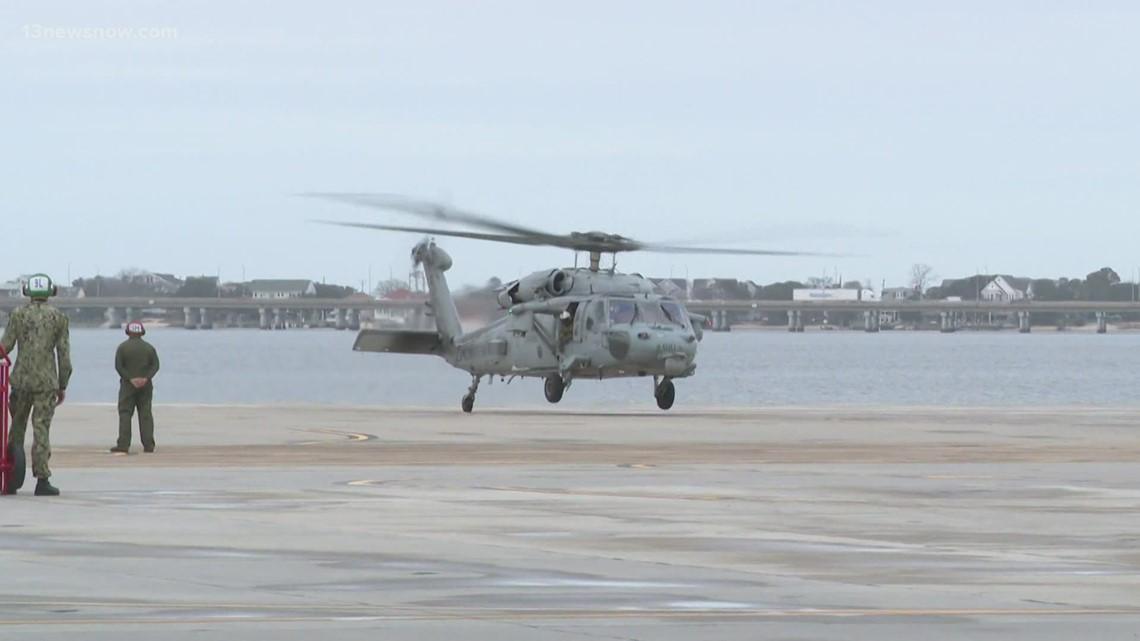 Congresswoman Elaine Luria invites President Biden to come back to tour Naval Station Norfolk