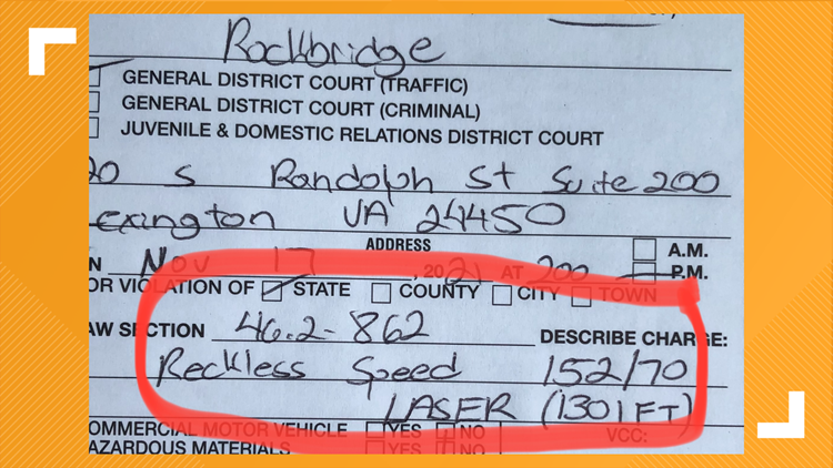 152 mph in a 70 mph zone | Virginia State Police charge man with DUI