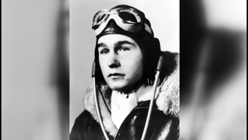Effort underway to place historical marker at airfield where young George H.W. Bush flew