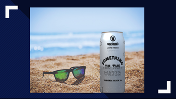 'Something in the Water' teams with Smartmouth Brewing to offer special cans for festival