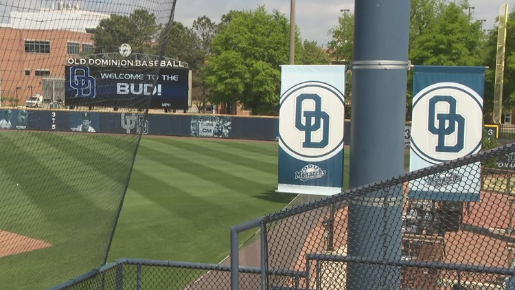 ODU baseball moving on up