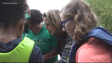 Virginia First Lady joined H.E.L.P. students on a field trip at Fort Monroe