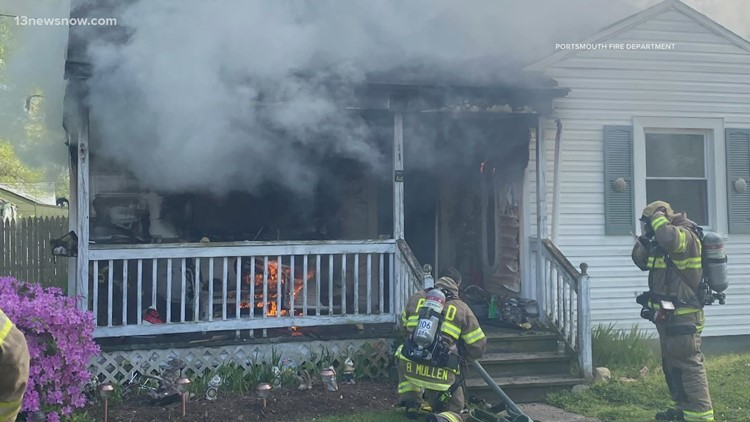 Fire causes 'significant damage' to Portsmouth house