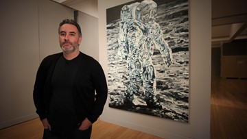 Space-inspired art exhibition opens at MOCA
