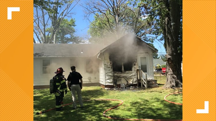 Red Cross helping adult, three children after Hampton house fire