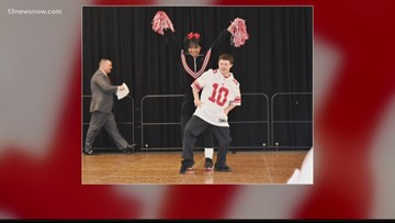 """Chesapeake Sheriff's Office hosts 'Dancing with the Athletes"""" to benefit Special Olympics"""