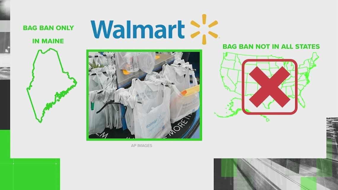 VERIFY: Walmart is not going to stop using plastic bags at all U.S. stores on July 1