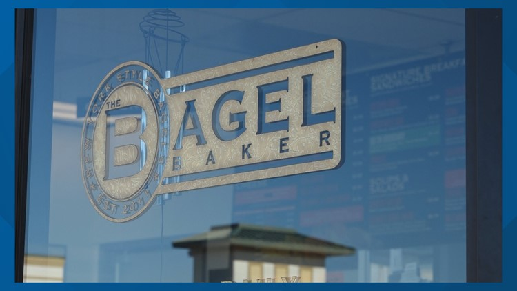 FRIDAY FLAVOR: It's bagel time! Freshly made at The Bagel Baker in Virginia Beach.