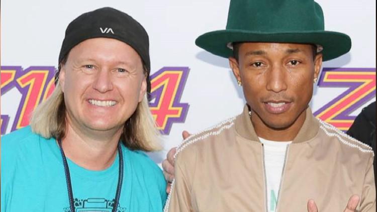 Shaggy and Pharrell