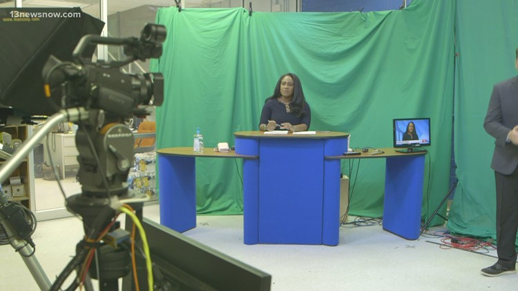 Behind the scenes: A look at 13News Now's hurricane studio
