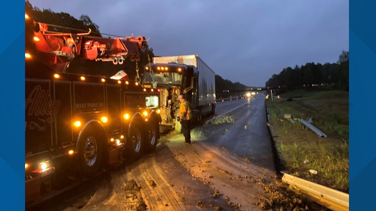 Man charged after York County tractor-trailer crash causes 200 gallons of fuel to leak
