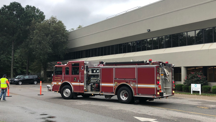 Suffolk Fire & Rescue looking into possible chemical exposure on QVC Drive