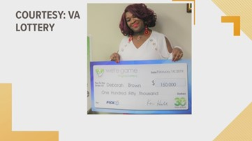 Woman wins Virginia Lottery... 30 times!