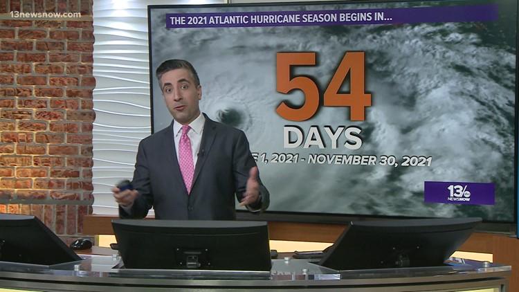 Colorado State University predicts 17 named storms in 2021 hurricane season