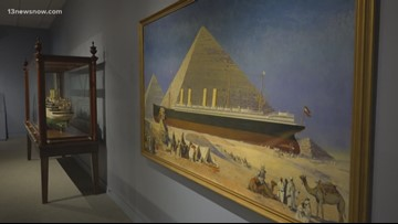 The 5th annual Mariners' Museum's Gallery Crawl gets visitors up close with artifacts