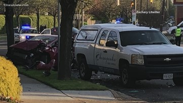One dead, one injured following crash in Norfolk