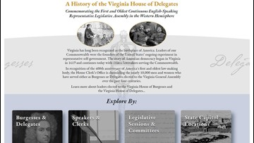 Virginia House releases new website on 400th anniversary