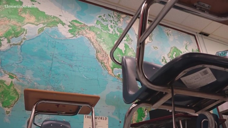 Virginia Beach School Board holds off on mask vote