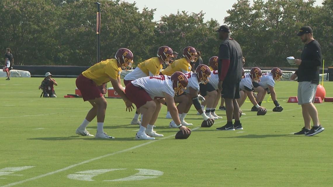 Washington Football Team opens training camp