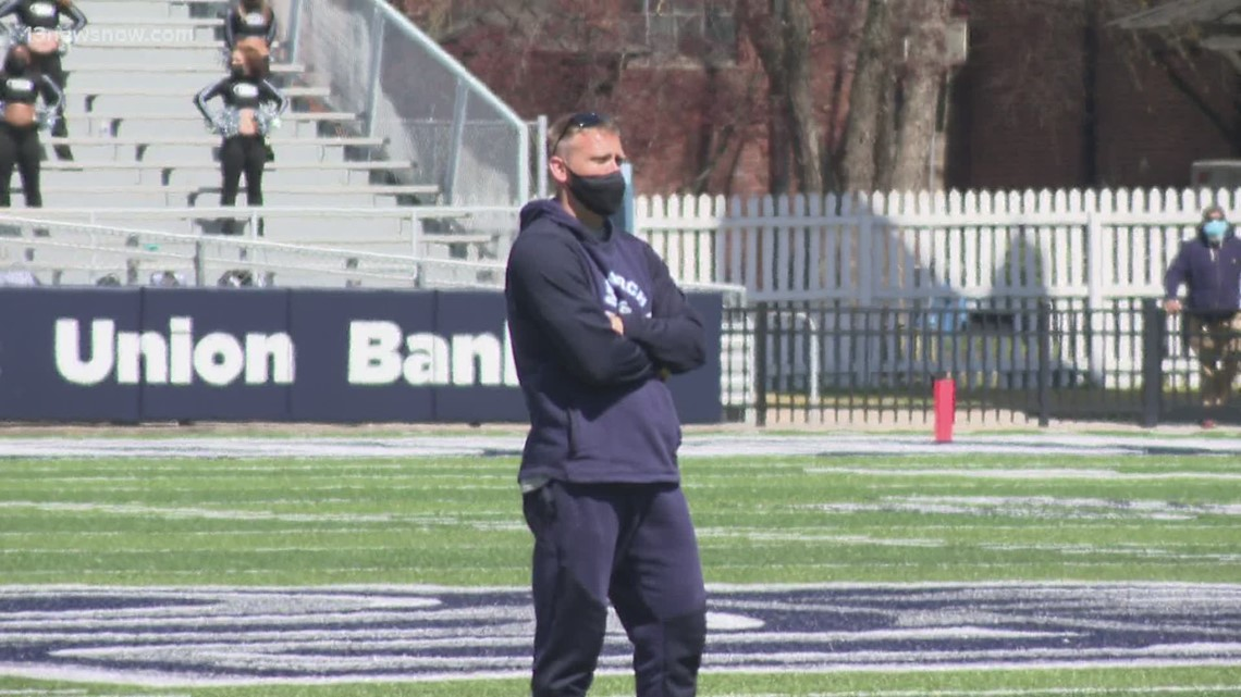 ODU feeling great after scrimmage