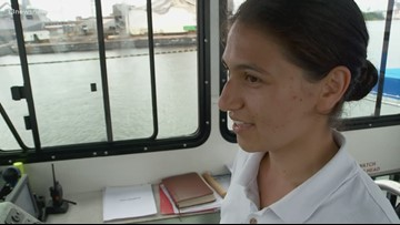 Elizabeth River Ferry gets first woman captain