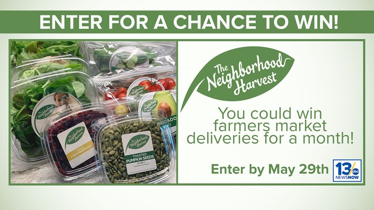 Farmers Market sweepstakes rules