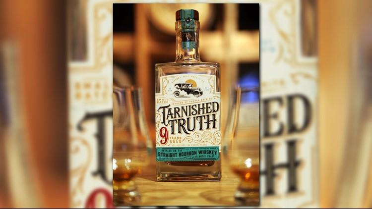 Nine years aged bourbon whiskey.